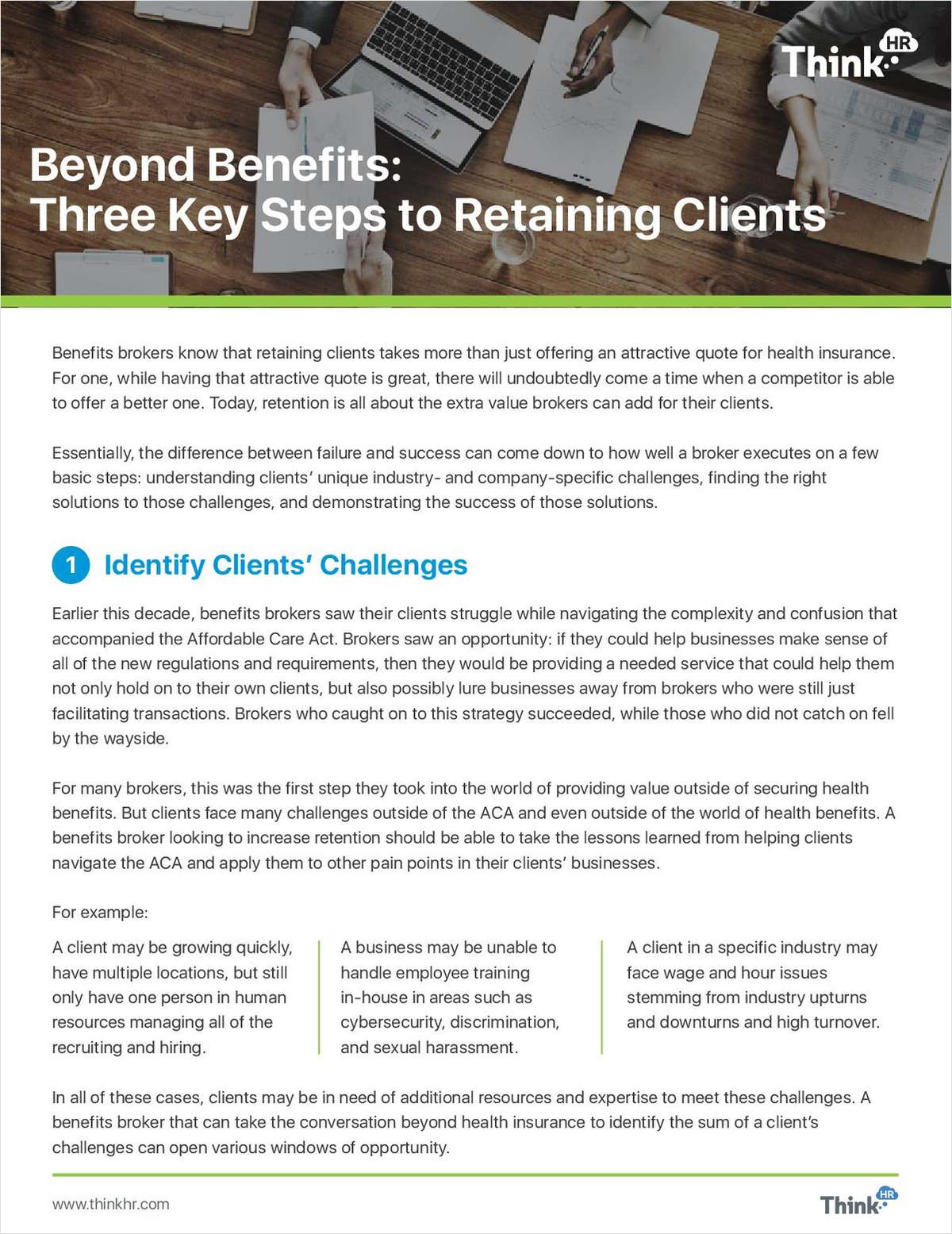 3 Key Steps to Retaining Clients