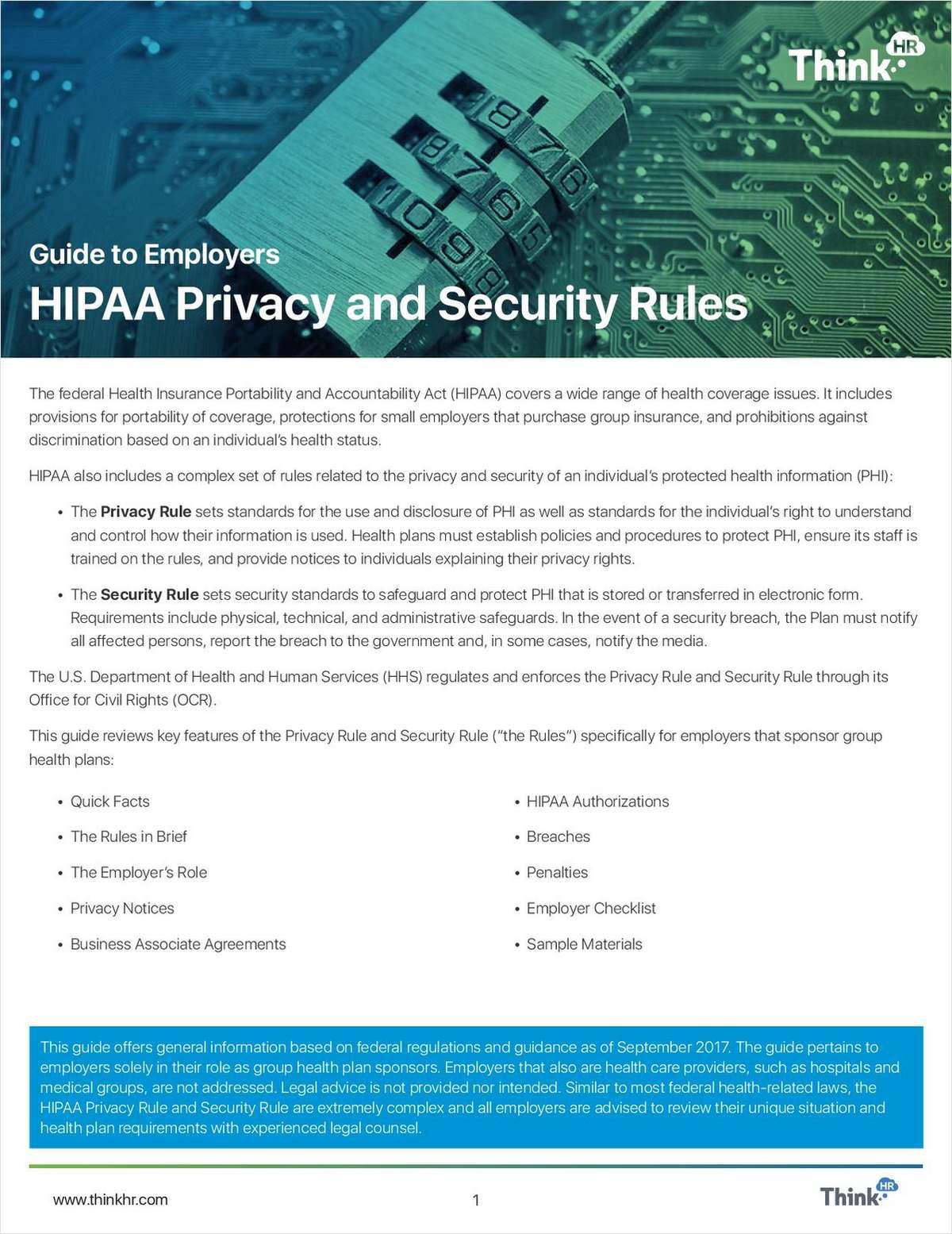 Broker Tool: Help Clients Understand Updated HIPAA Rules