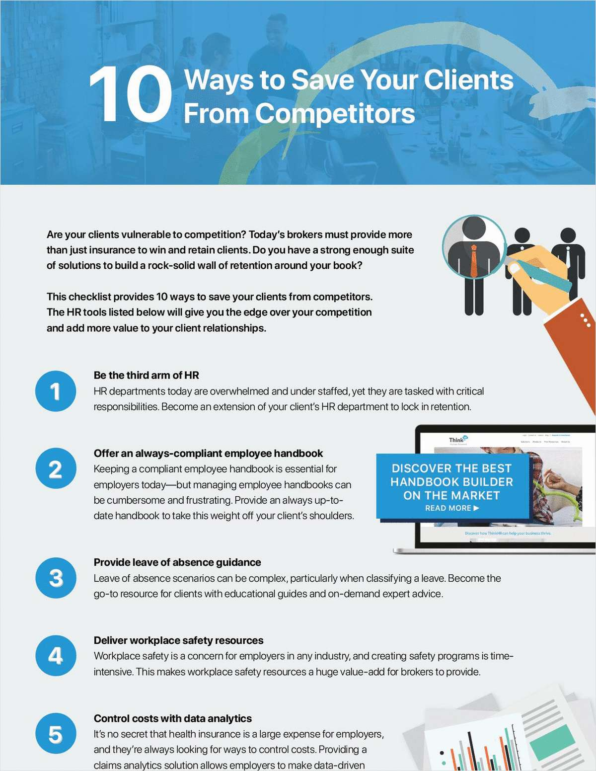 10 Ways to Save Your Clients from Competitors
