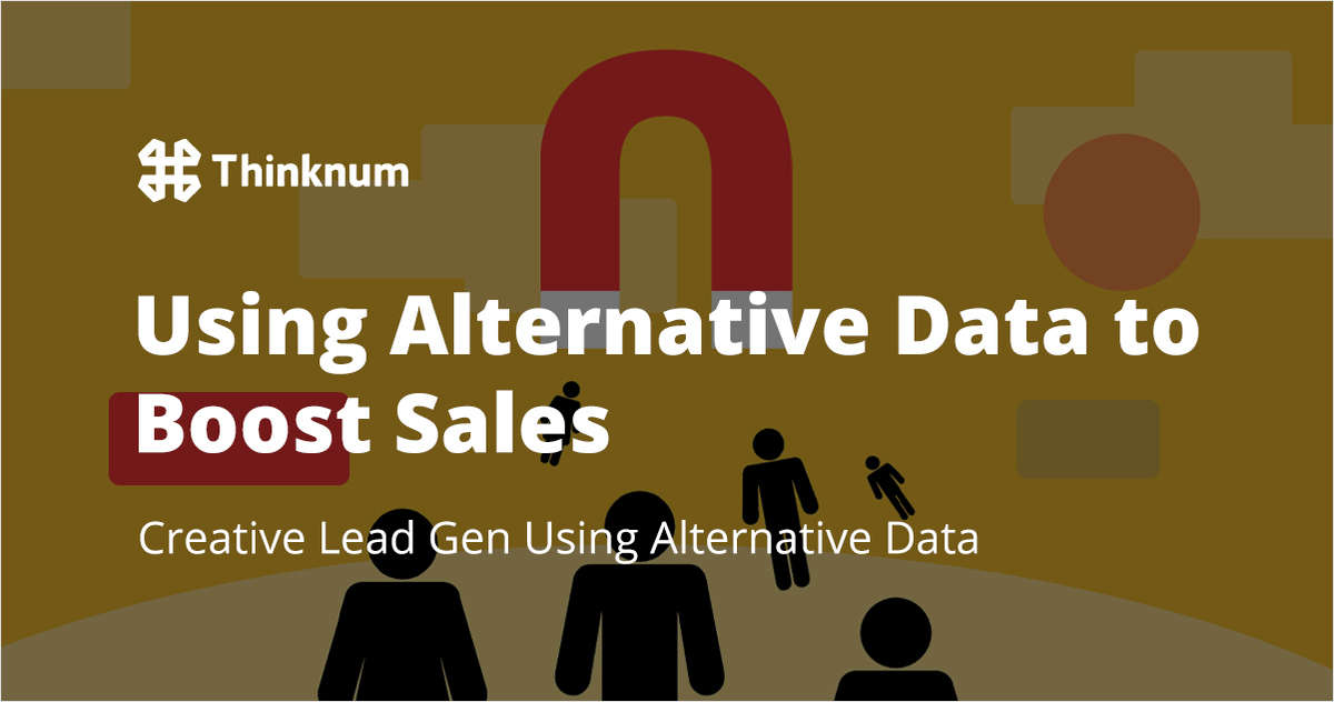 Using Alternative Data to Boost Sales