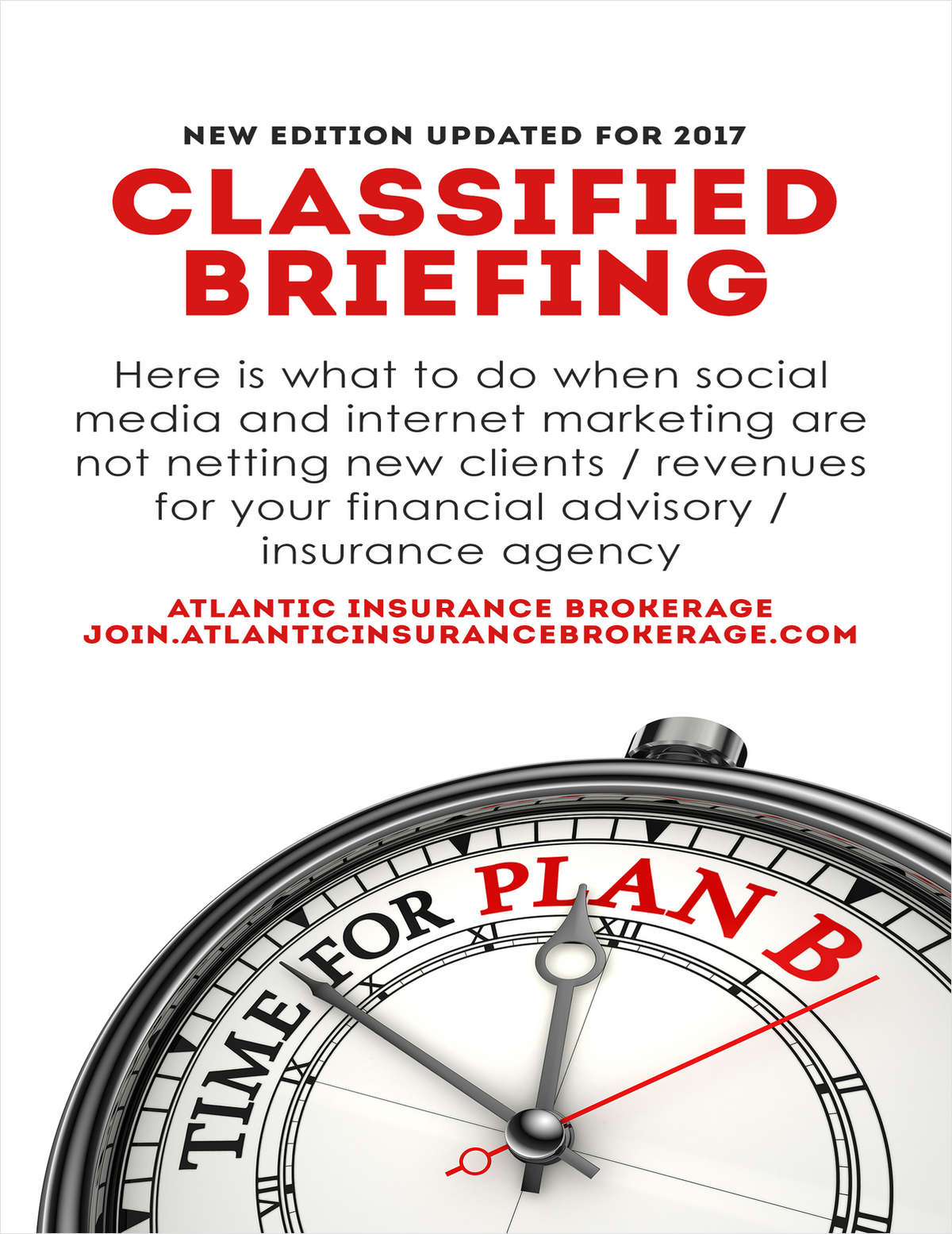What to Do When Social Media / Web Marketing Fails to Net New Clients for an Insurance Agency / Financial Advisors