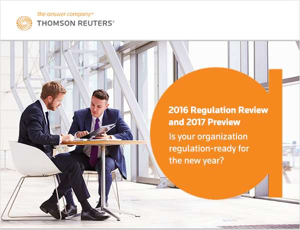 2016 Regulation Review and 2017 Preview