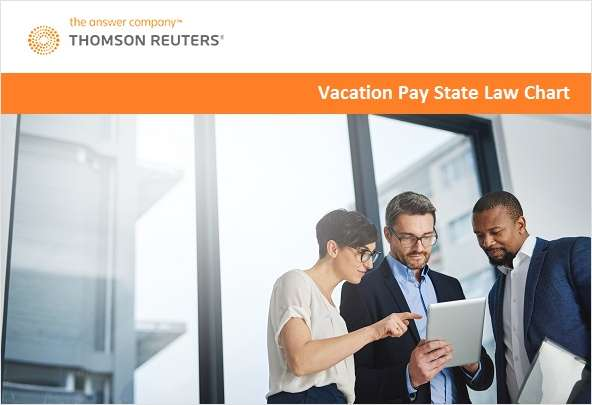 Vacation Pay Stay State Laws