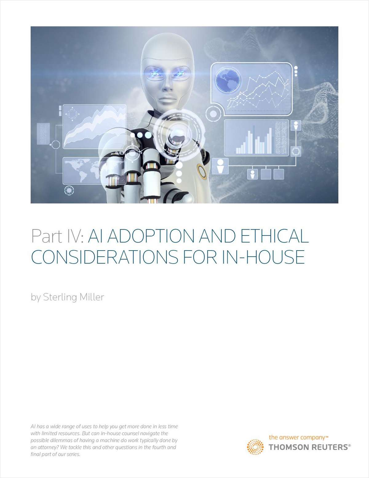 AI Adoption and Ethical Considerations for In-House Counsel