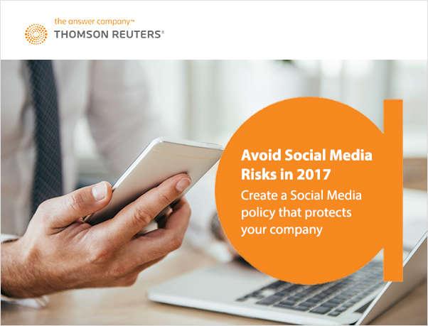 Avoid Social Media Risks in 2017