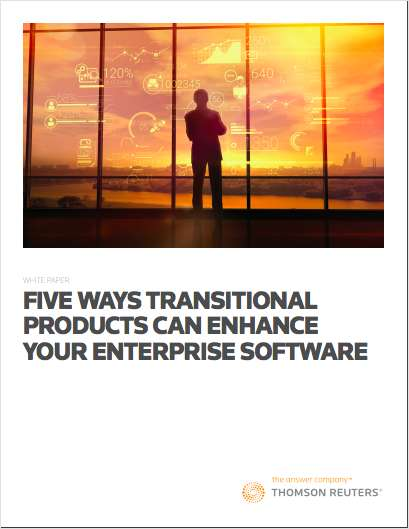 Five Ways Transitional Products Can Enhance Your Enterprise Software