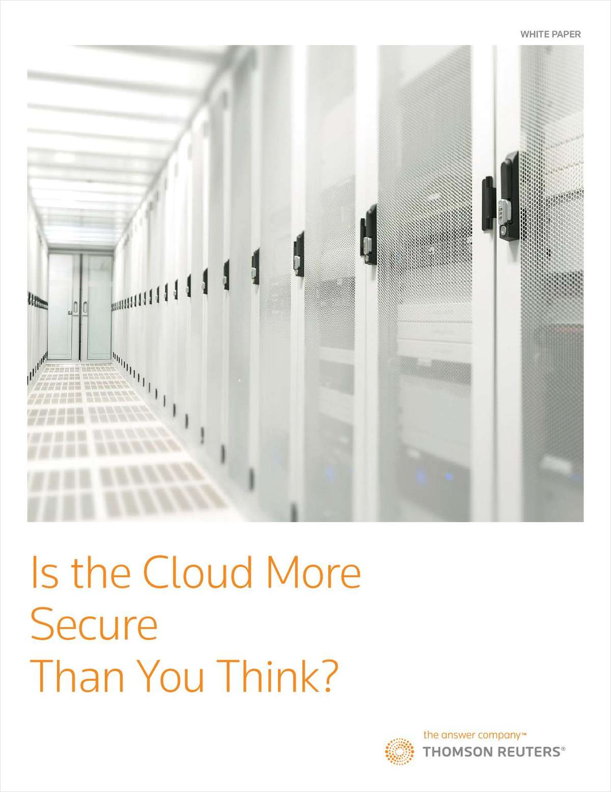 Is the Cloud More Secure Than You Think?