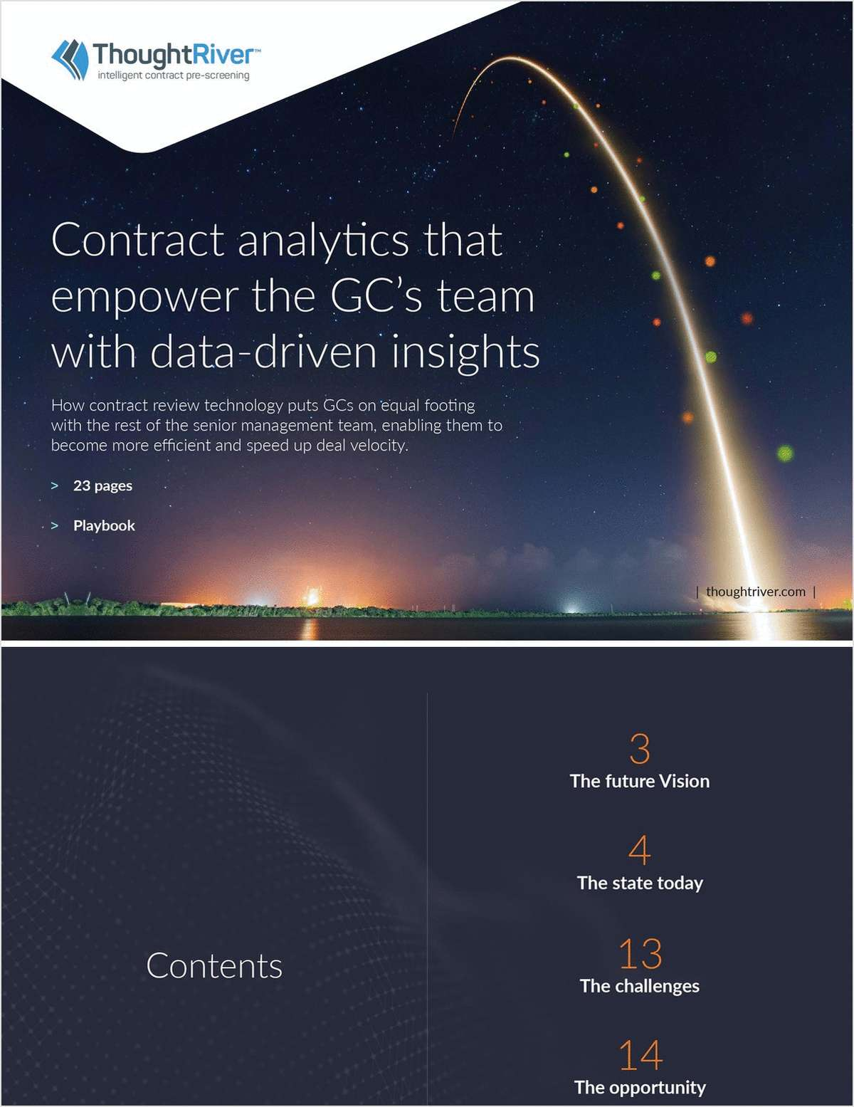 Contract Analytics that Empower the GC's Team with Data-driven Insights