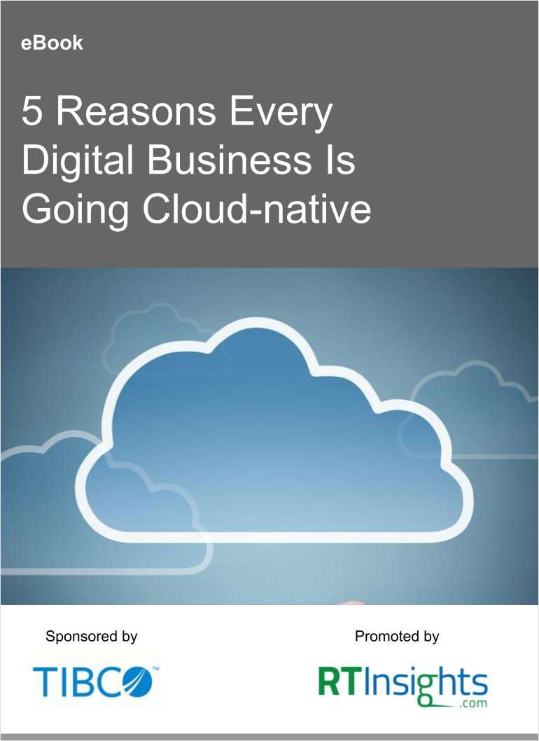 Top Five Reasons to Go Cloud-native