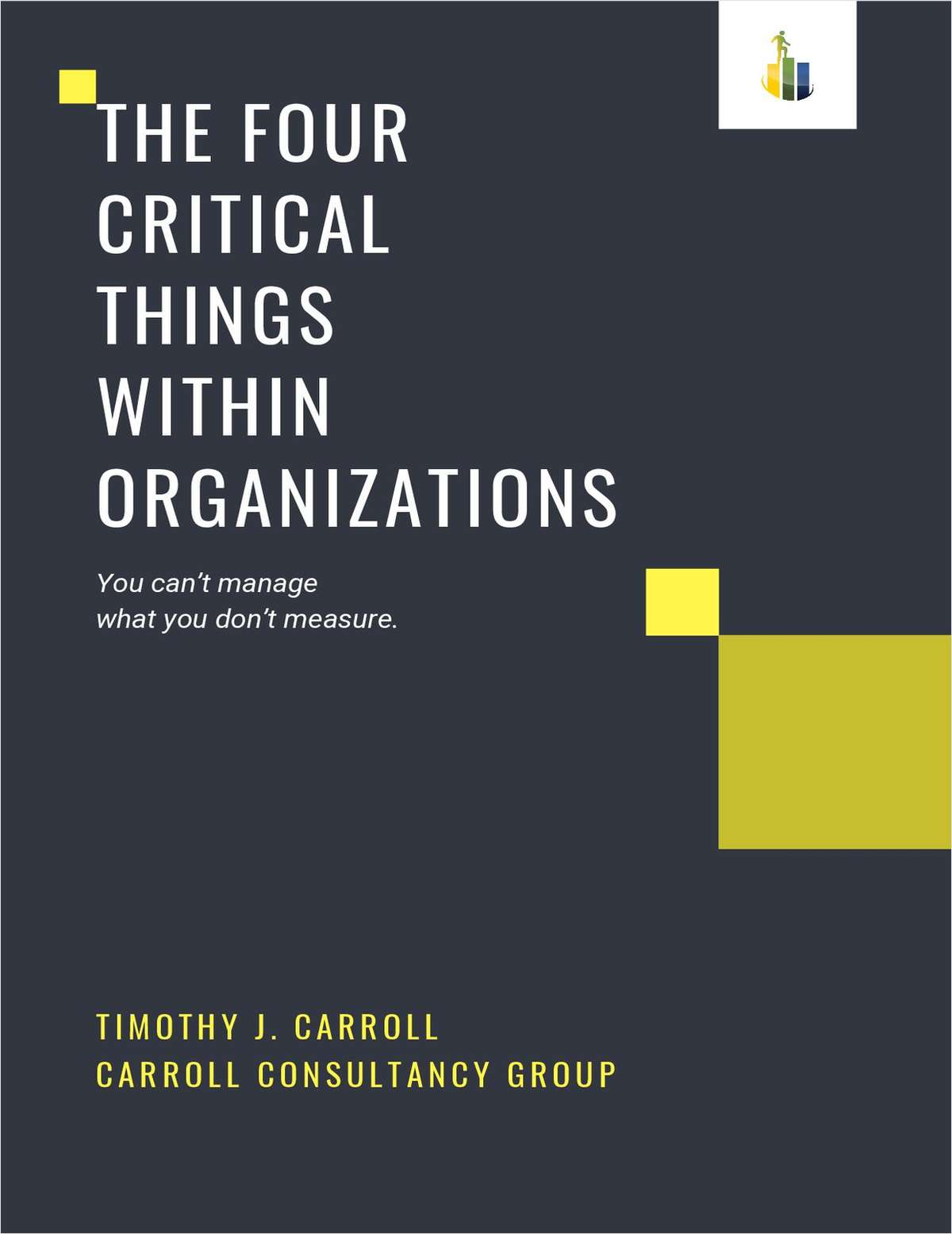 The Four Critical Things within Organizations