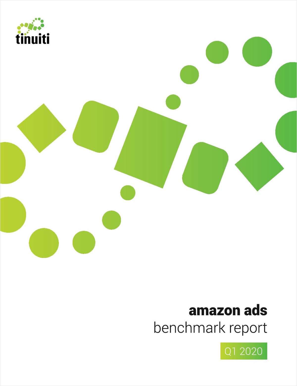 Amazon Ads Benchmark Report: Amazon Performance Data To Recalibrate Q2 & Beyond