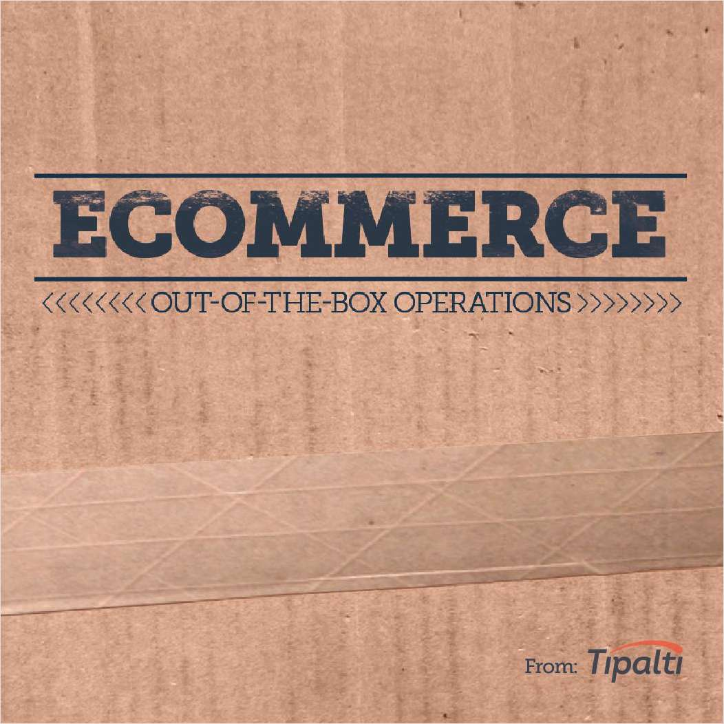 eCommerce Playbook
