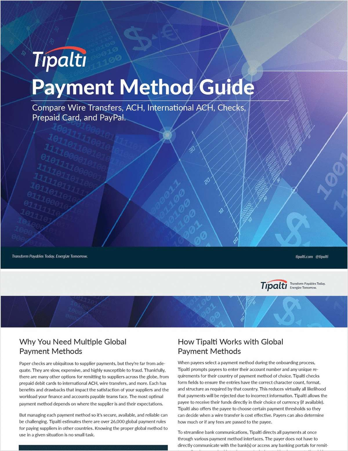 Payment Method Guide