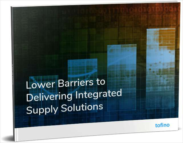 Lower Barriers to Delivering Integrated Supply Solutions