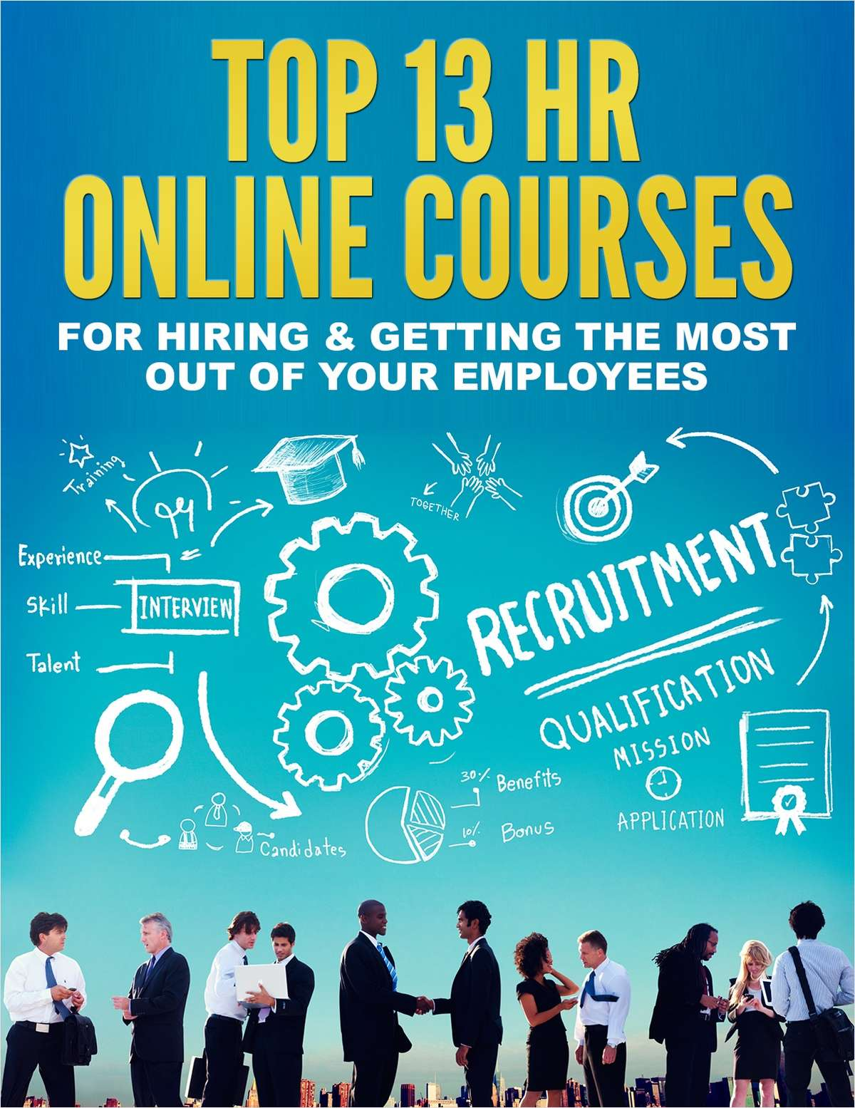 Top 13 HR Online Courses for Hiring & Getting the Most Out of Your Employees