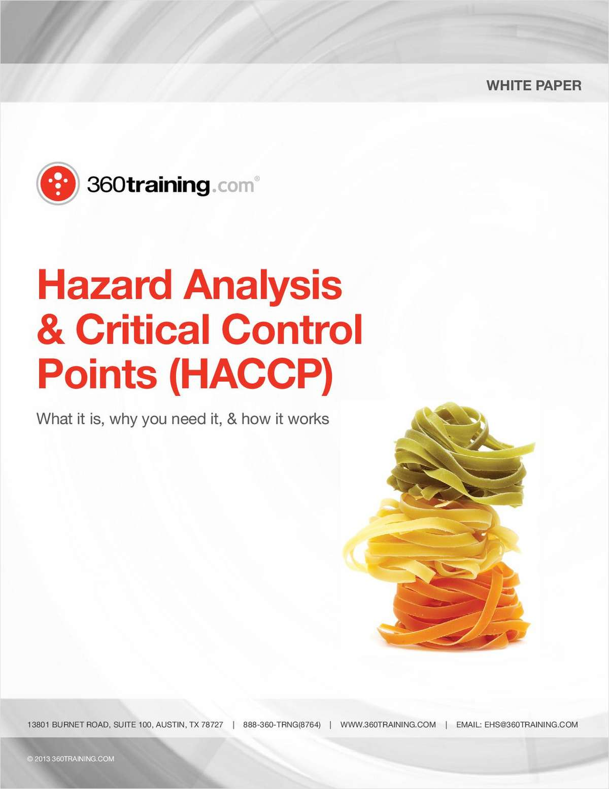 Hazard Analysis & Critical Control Points (HACCP)