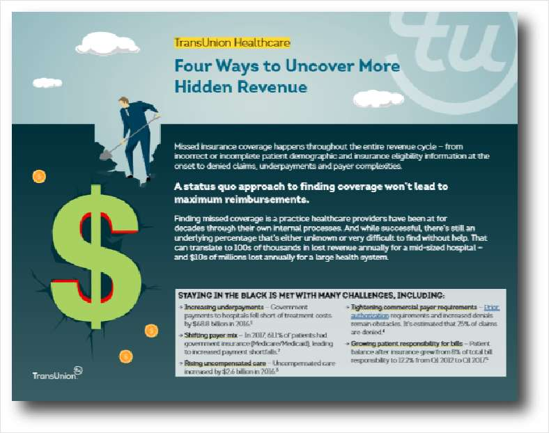 Four Ways to Uncover More Hidden Revenue