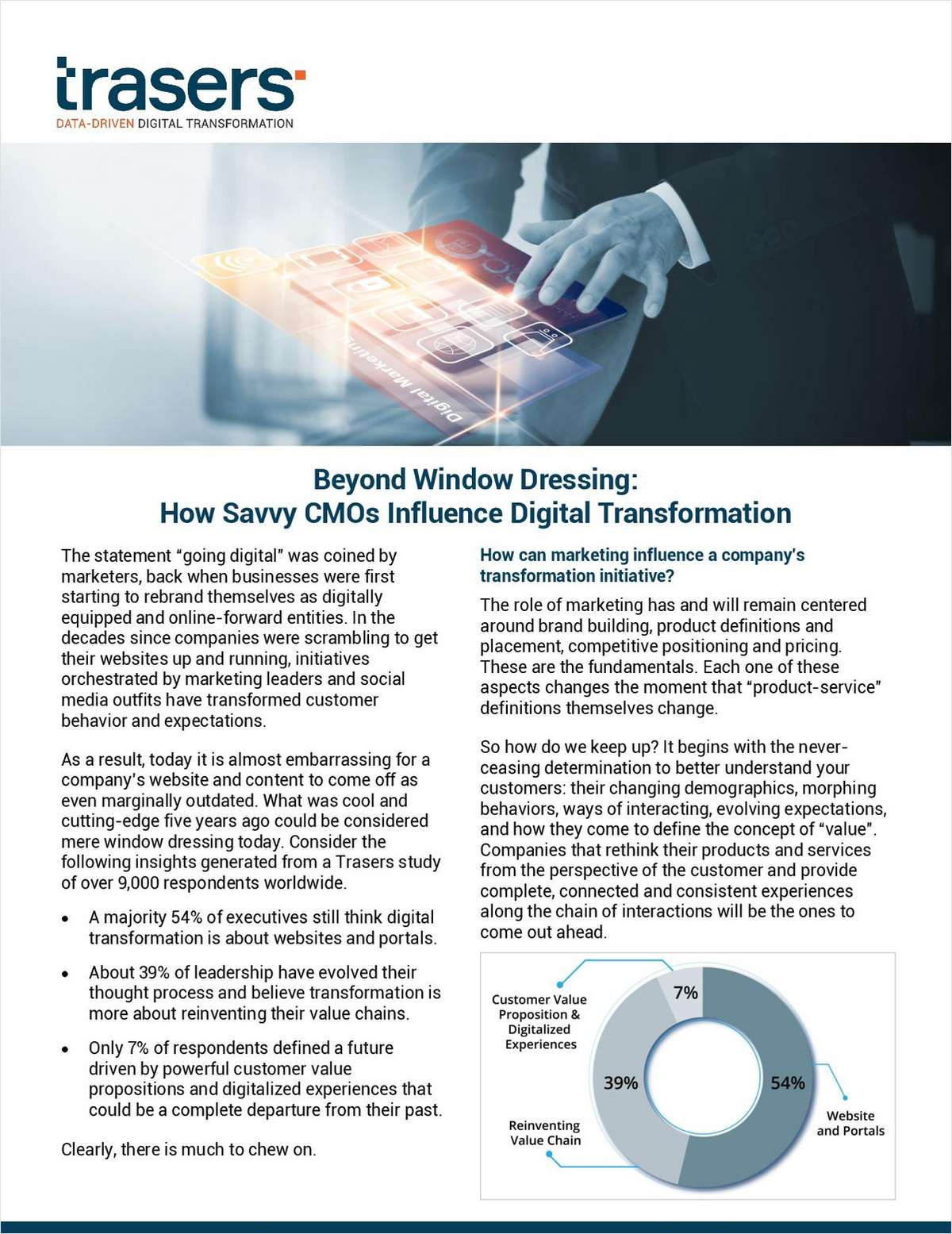 Going Beyond Window Dressing: How Smart CMOs Really Affect Digital Transformations