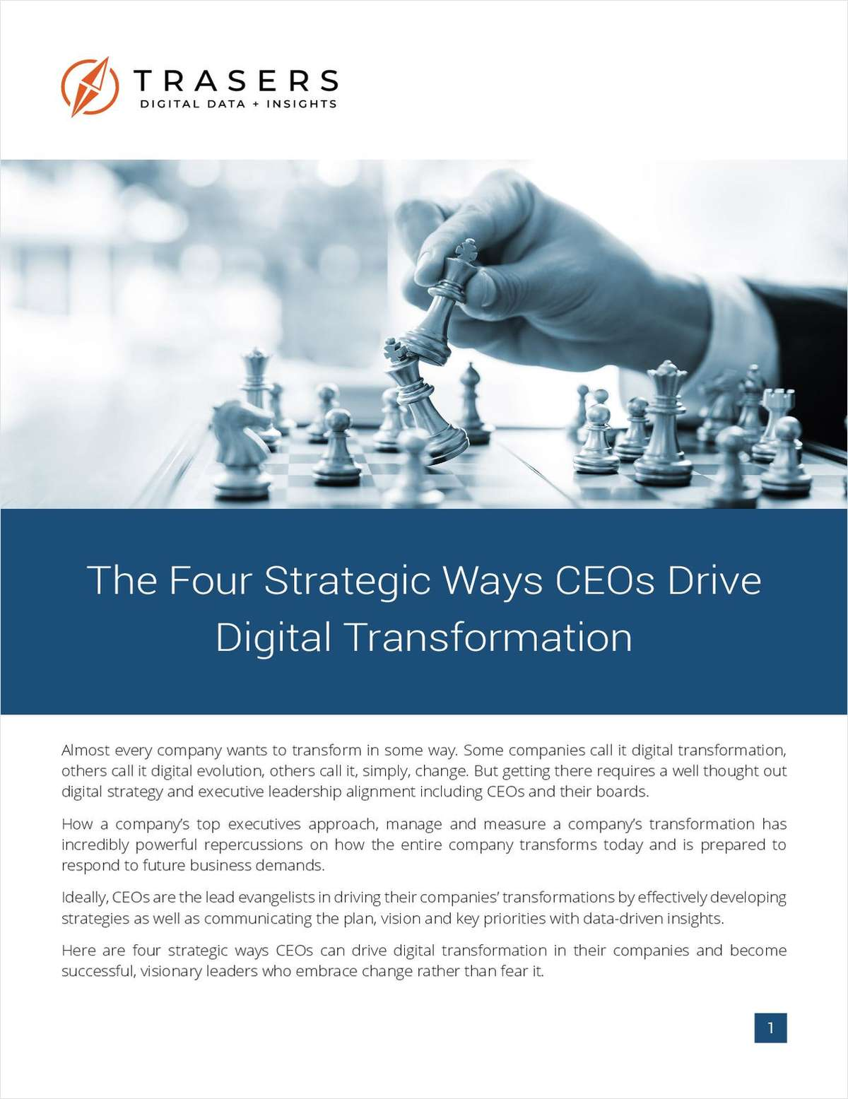 The Four Strategic Ways CEOs Drive Digital Transformation