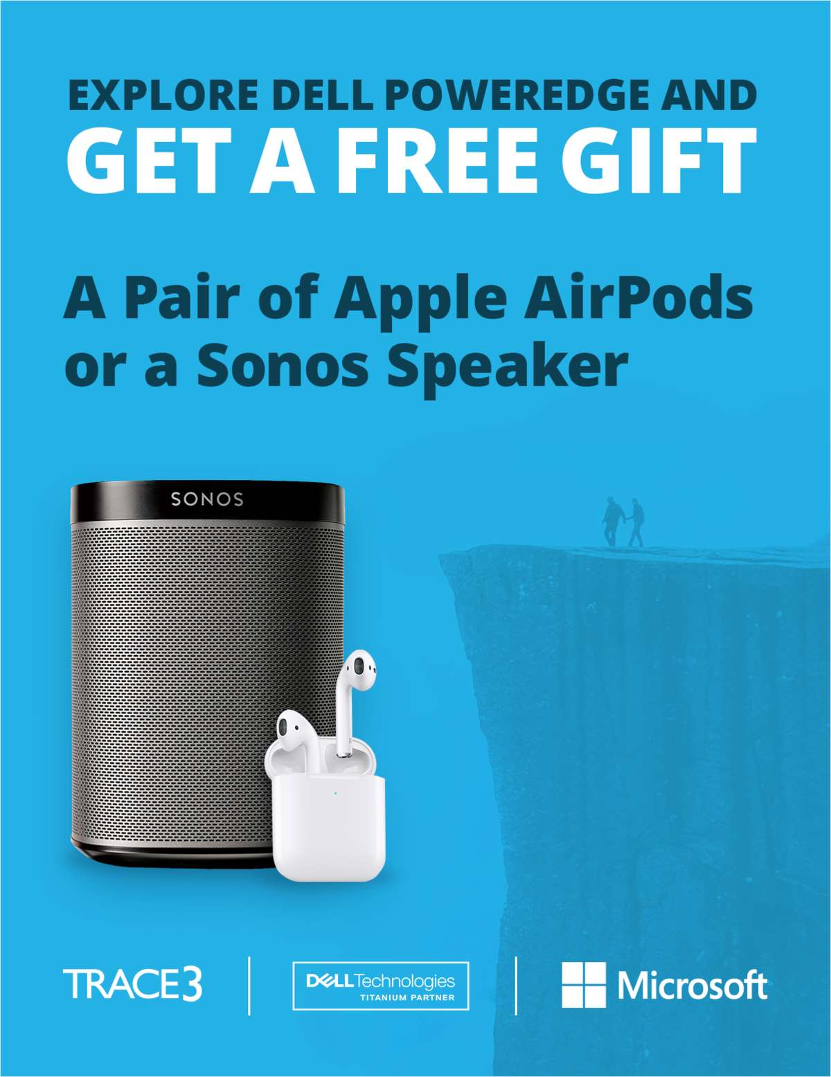 Explore Dell PowerEdge and Get a Free Pair of Apple AirPods or a Sonos Speaker