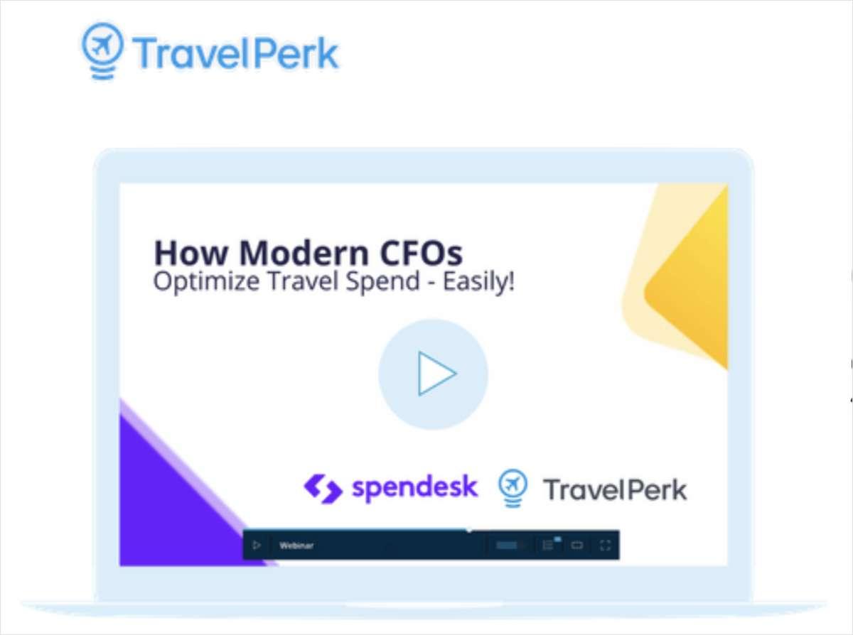 How Modern CFOs Optimize Travel Spend, Free TravelPerk On-Demand Webinar