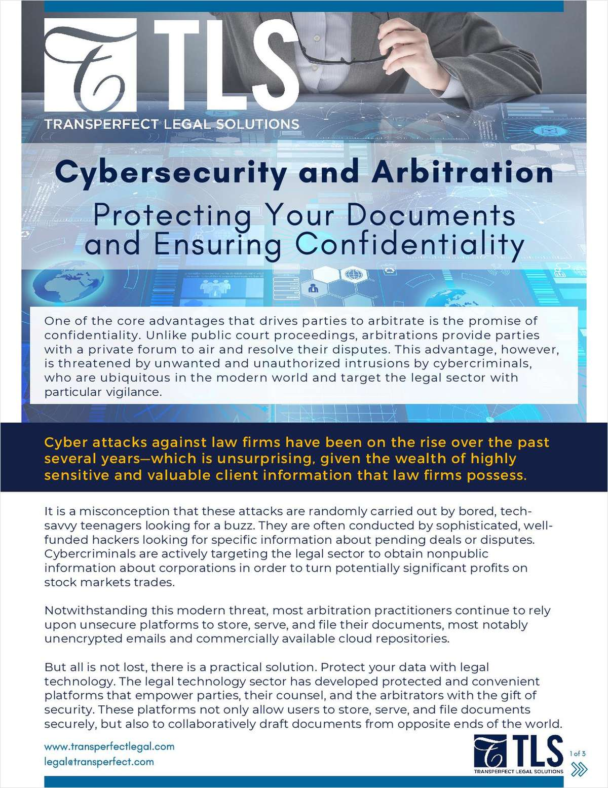 Cybersecurity and Arbitration: Protecting Your Documents and Ensuring Confidentiality
