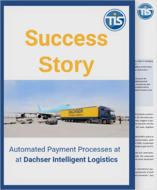[Success Story] Automated Payment Processes at DACHSER Intelligent Logistics