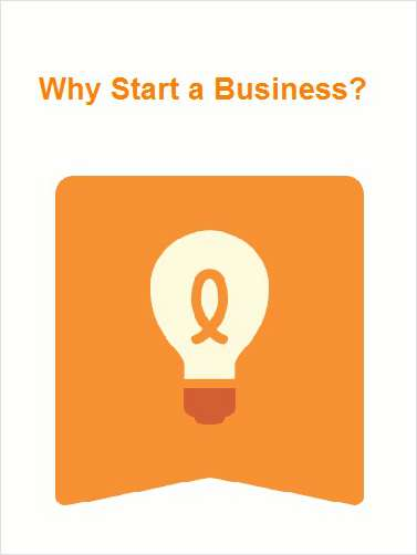 Why Start a Business?