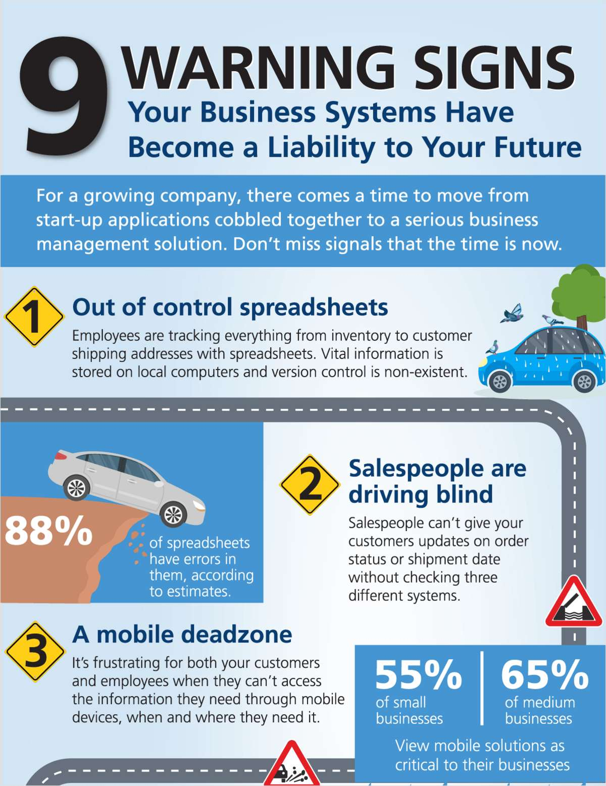 9 Warning Signs Your Business Systems Have Become a Liability to Your Future