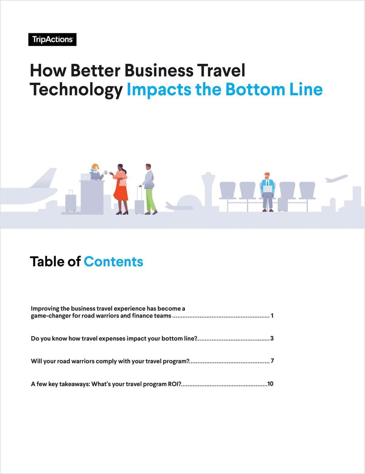 How Better Business Travel Technology Impacts the Bottom Line