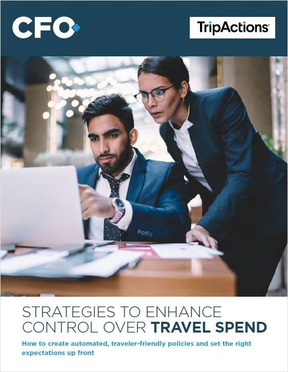 Strategies to Enhance Control Over Travel Spend