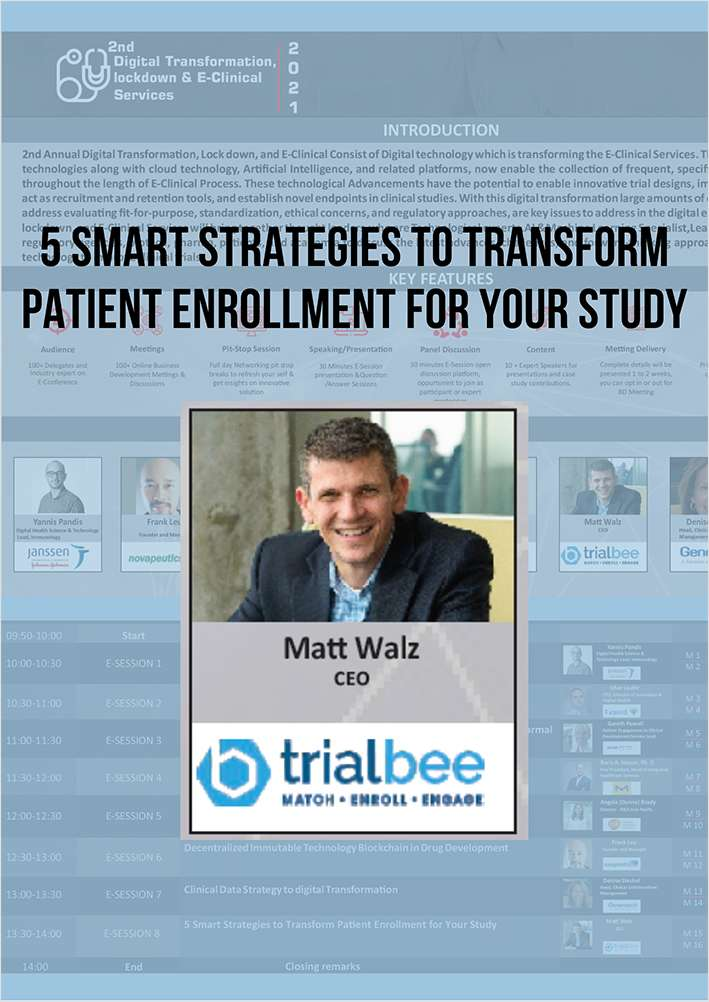 5 Smart Strategies to Transform Patient Enrollment for Your Study