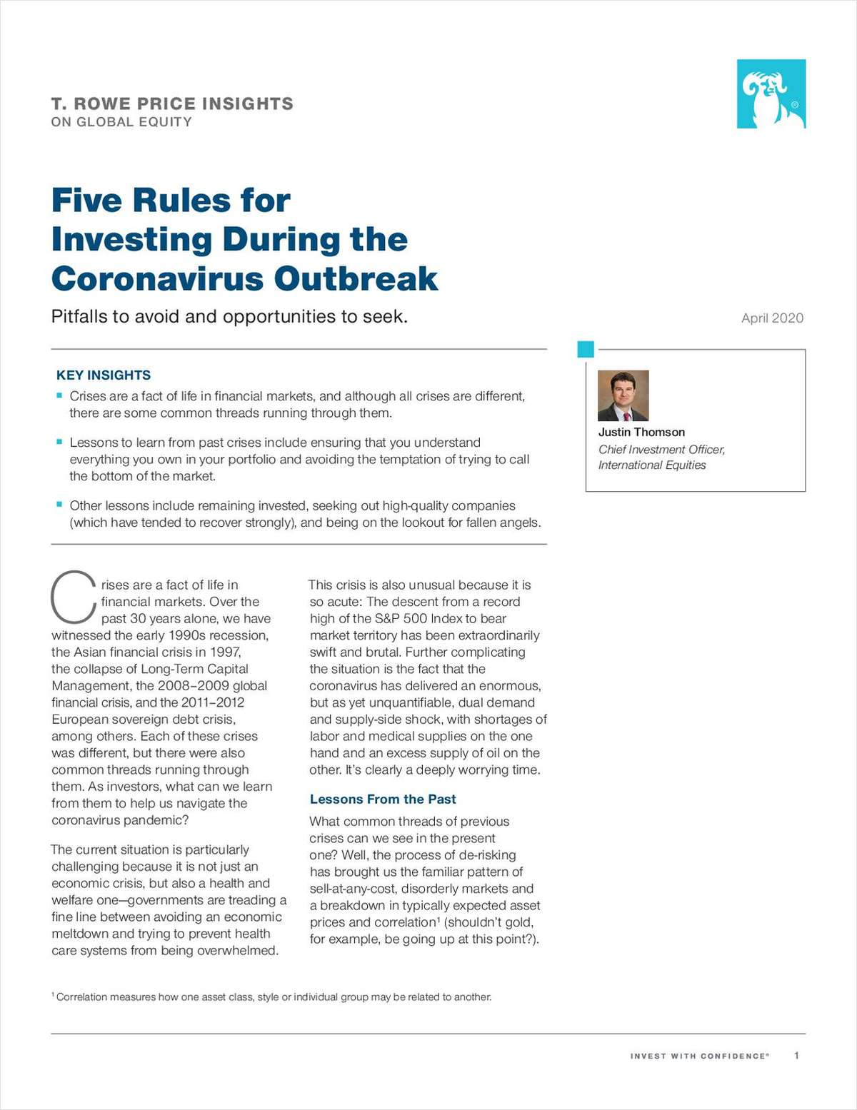 Five Rules for Investing During the Coronavirus Outbreak