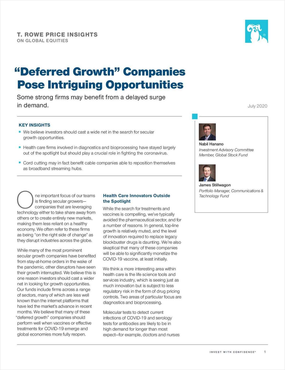 'Deferred Growth' Companies Pose Intriguing Opportunities
