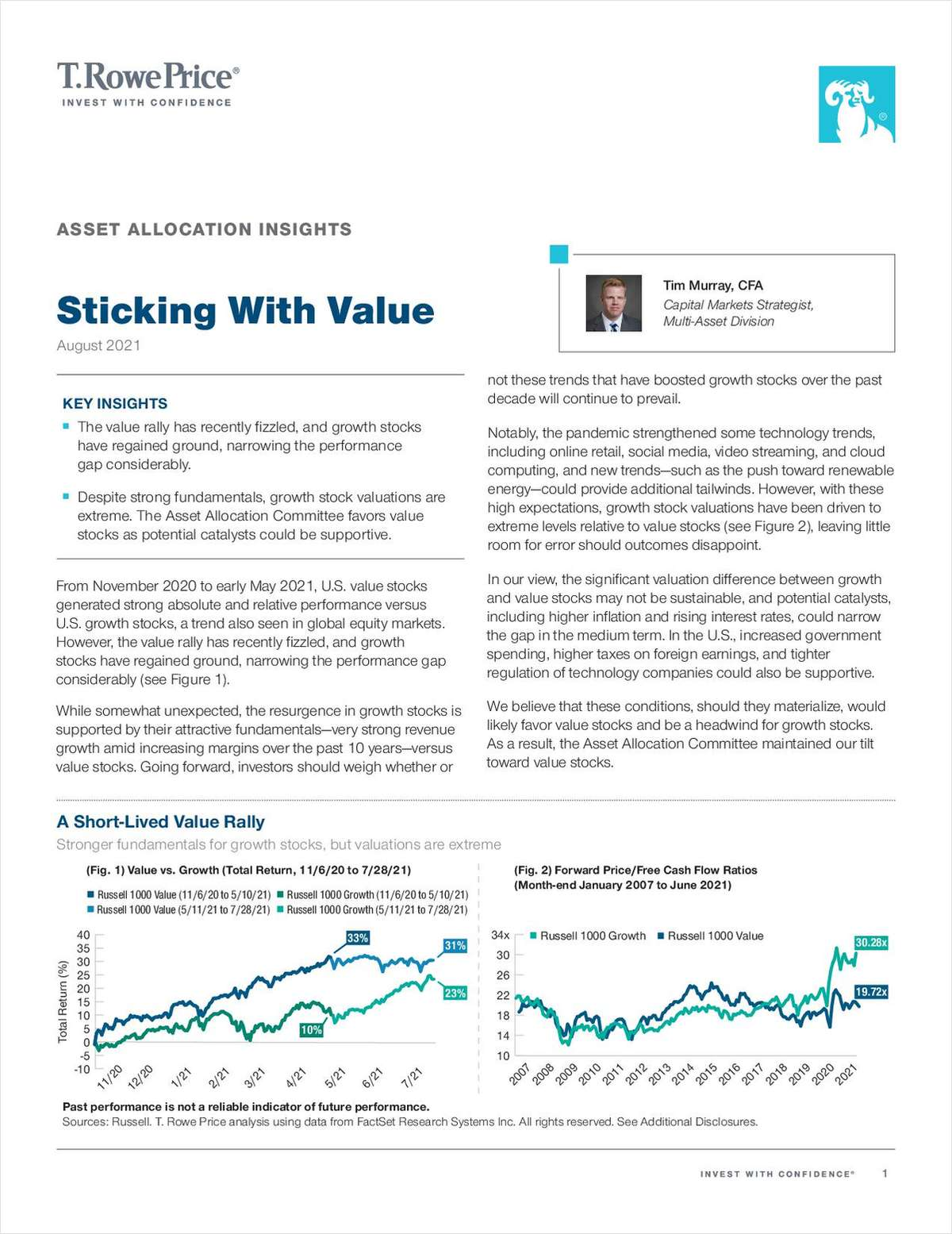 Asset Allocation Insights: Sticking With Value