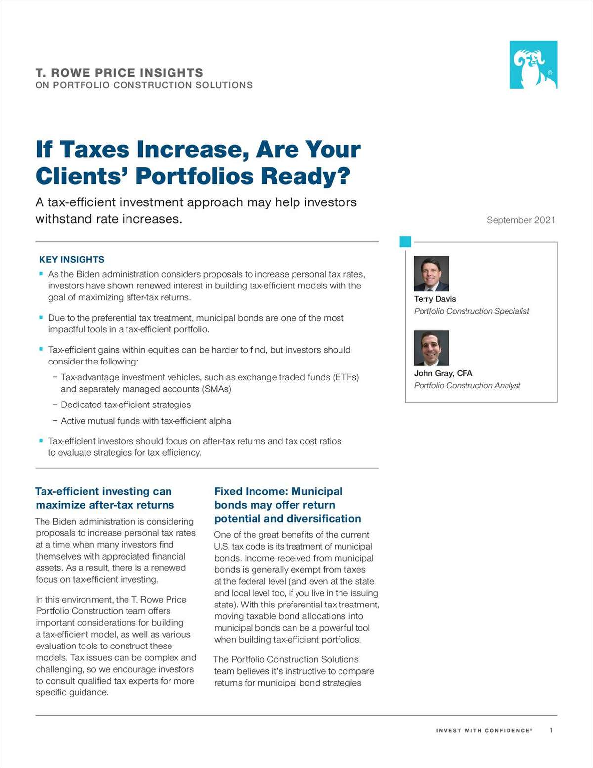 If Taxes Increase, Are Your Clients' Portfolios Ready?
