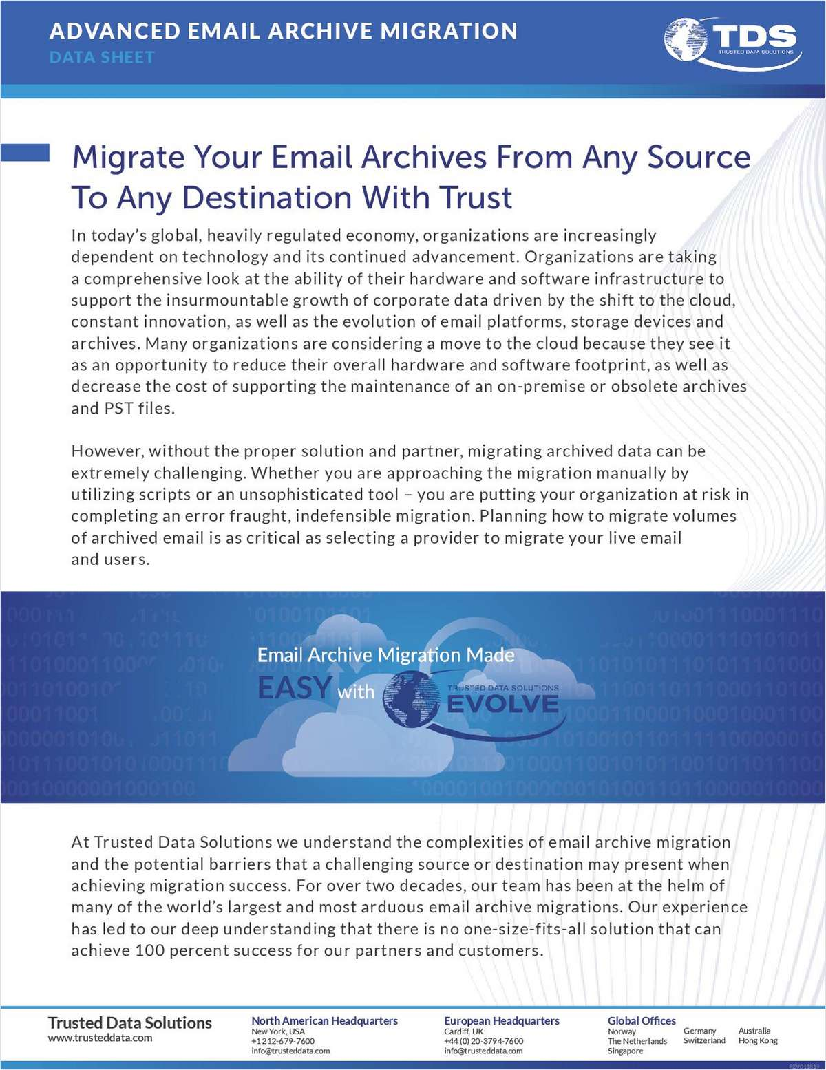 Advanced Email Archive Migration