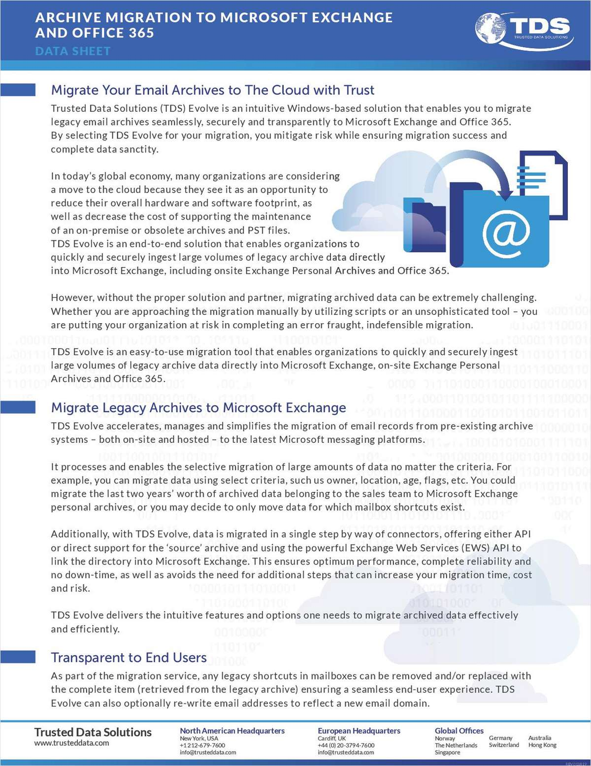 Archive Migration to Microsoft Exchange and Office 365 Free White Paper