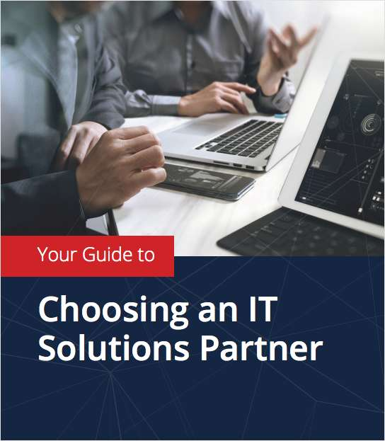 YOUR GUIDE TO CHOOSING AN IT SOLUTIONS PARTNER