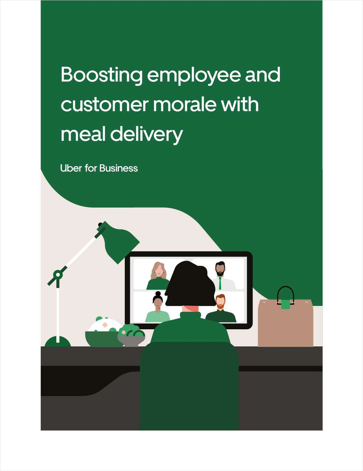 Boosting employee and customer morale with meal delivery