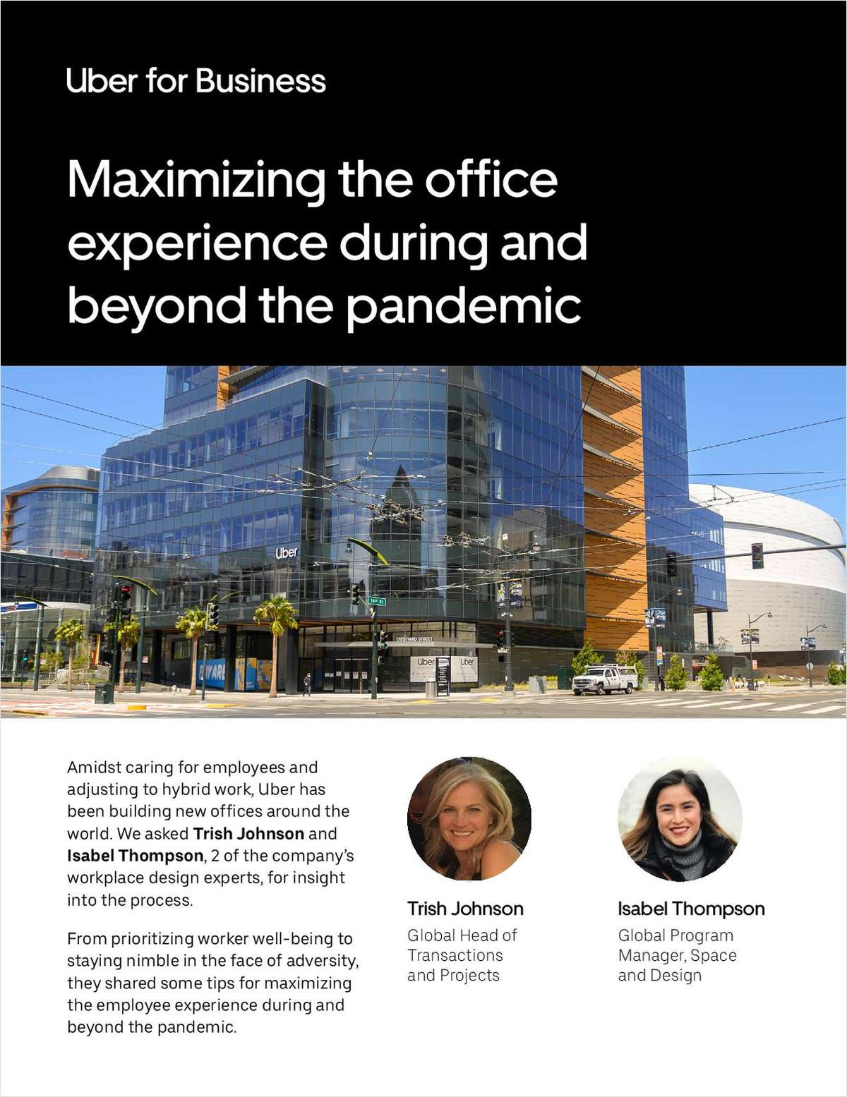 Maximizing the office experience during and beyond the pandemic