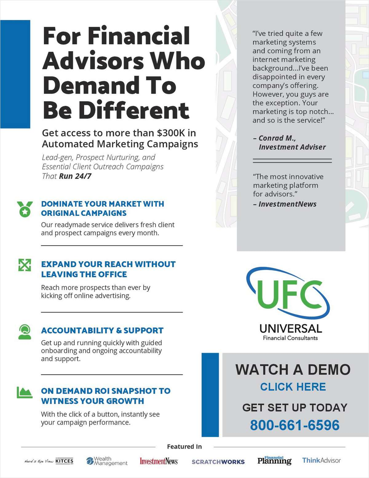 How Financial Advisors Can Differentiate Their Marketing