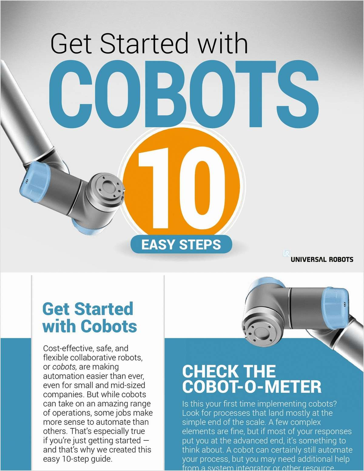 Getting Started with Cobots in 10 Easy Steps