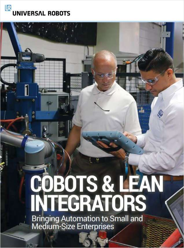 Cobots and Lean Integrators: Bringing Automation to Small and Medium-Size Enterprises