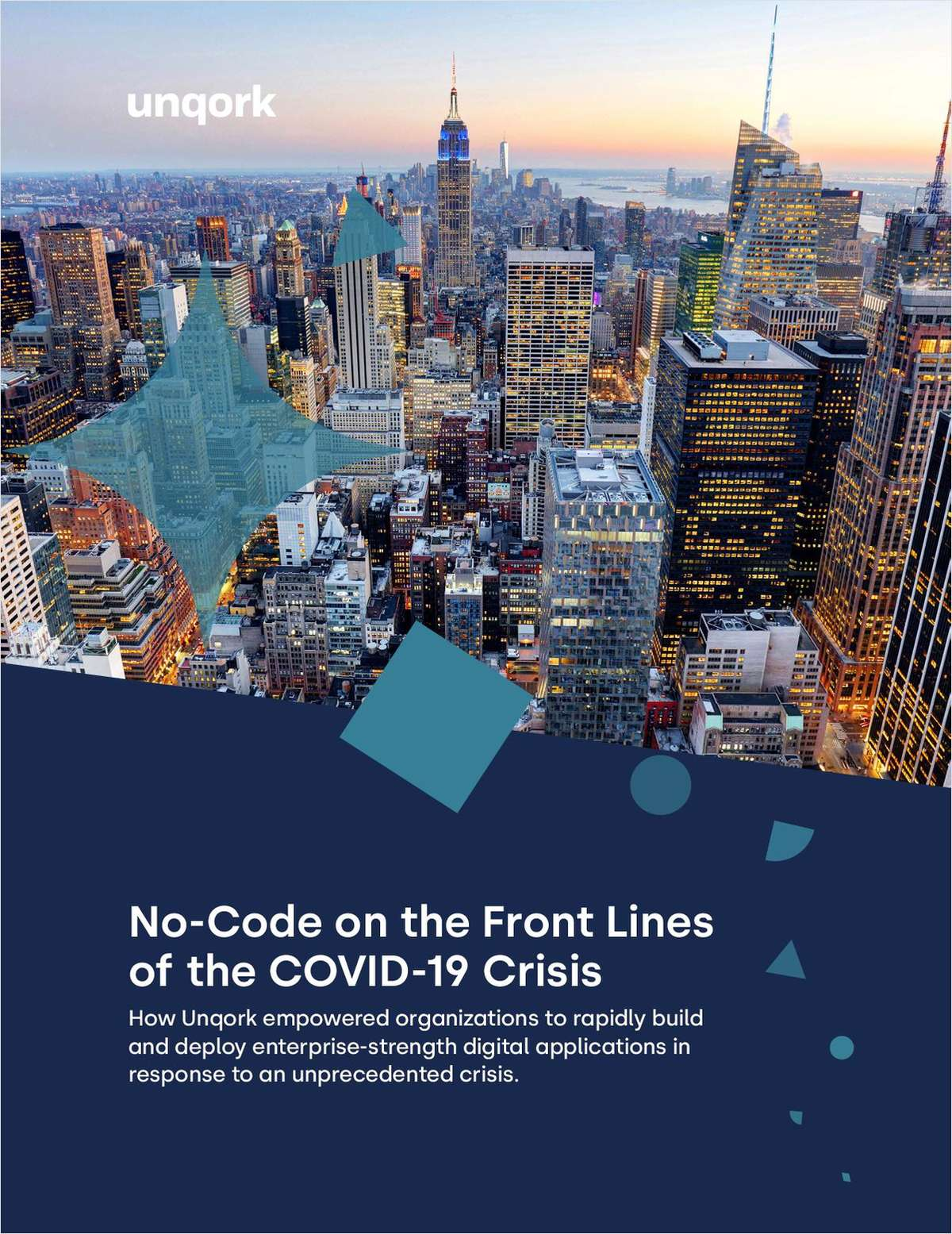 No-Code On The Front Lines Of The COVID-19 Crisis