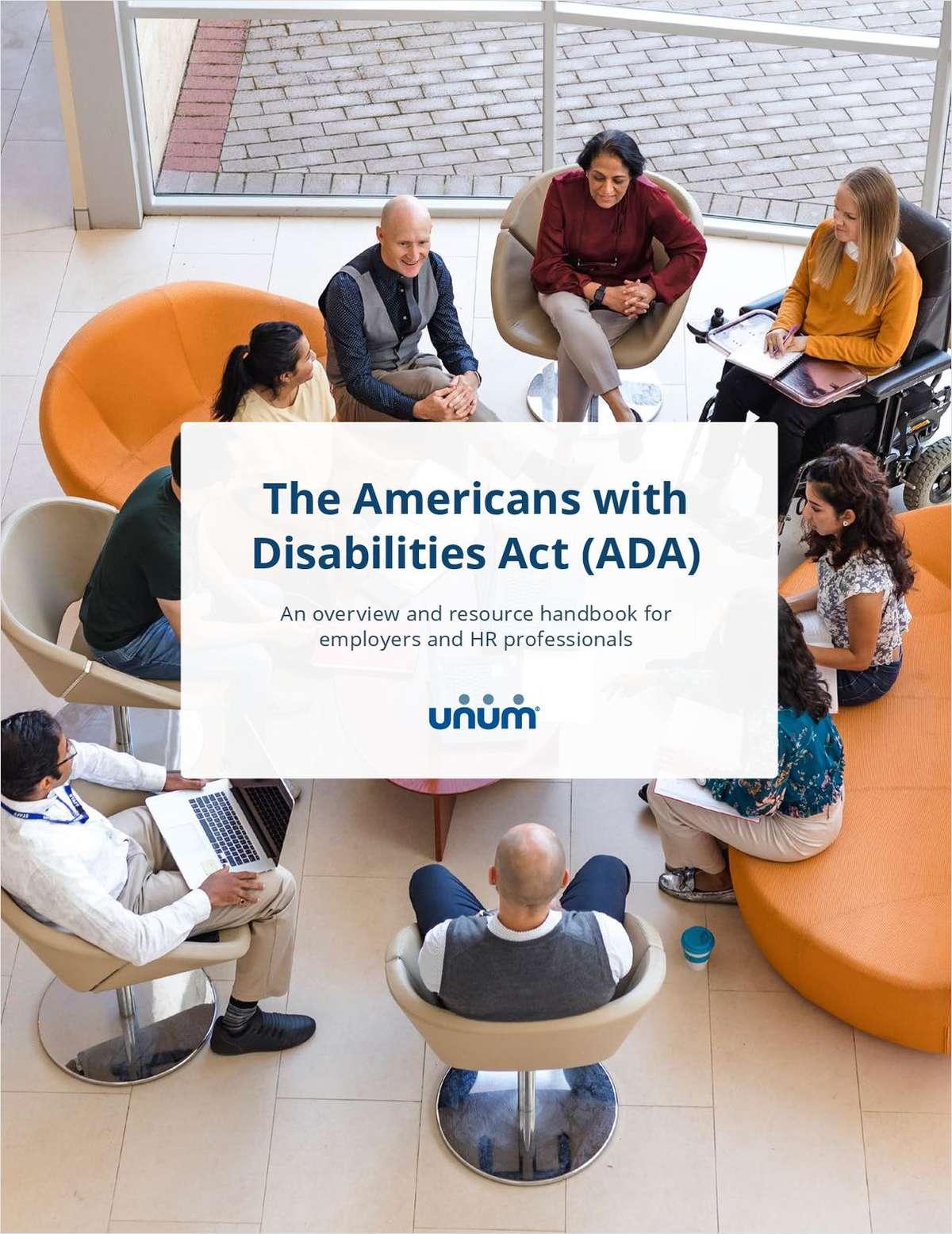 The ADA Handbook for HR Professionals