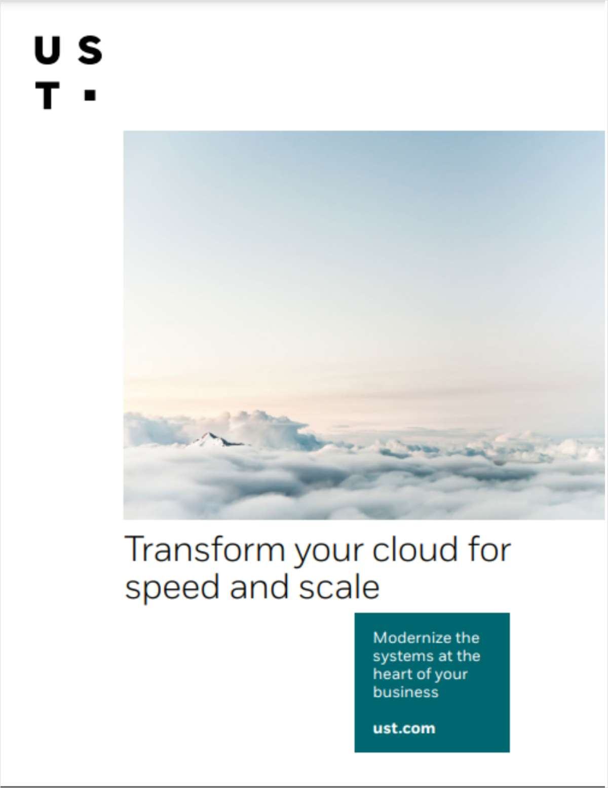 Strategy Guide: Transform your cloud for speed and scale