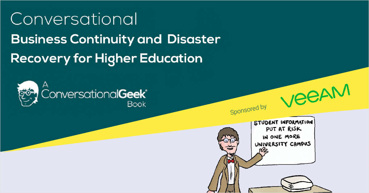 Business Continuity and Disaster Recovery (BCDR) for Higher Education