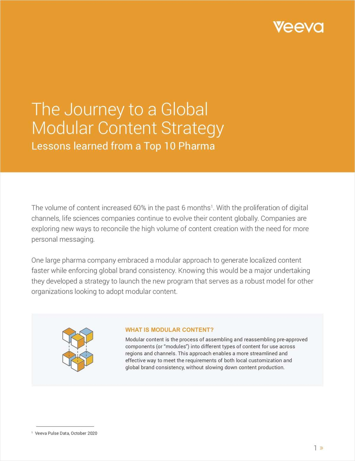The Journey to a Global Modular Content Strategy