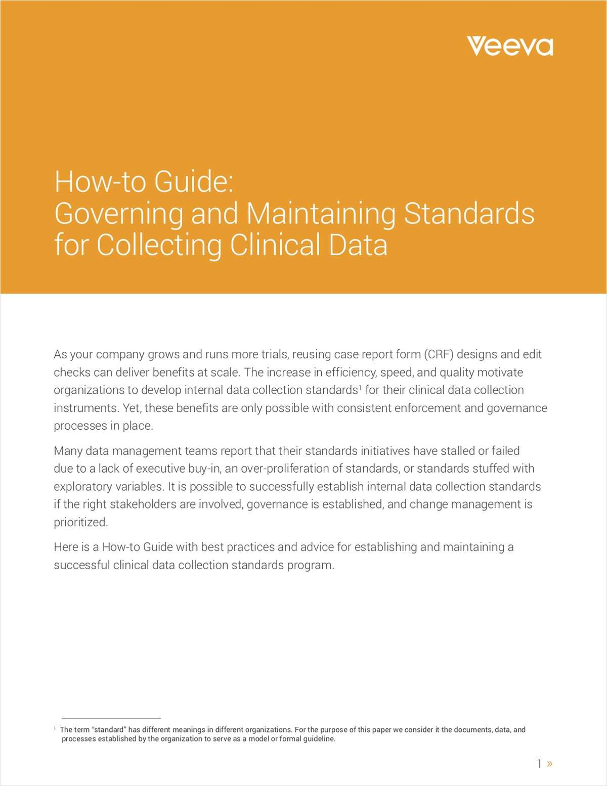 How to Establish a Successful Clinical Data Standards Program